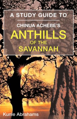 themes in anthills of savannah Anthills of the savannah is a 1987 novel by nigerian writer chinua achebe it was his fifth novel, first published in the uk 21 years after achebe's previous one (a man of the people in 1966), and was credited with having revived his reputation in britain.