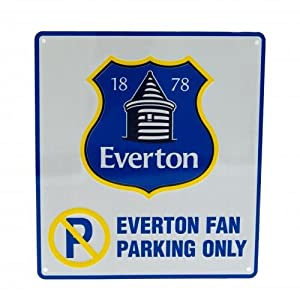 Everton F.C. No Parking Sign NC from Everton FC