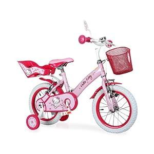hello kitty romantic kinderfahrrad m dchen fahrrad 12. Black Bedroom Furniture Sets. Home Design Ideas