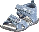 Lurchi Amy 05607, Mädchen, Sandalen/Fashion-Sandalen, Blau  (jeans 17), EU 32