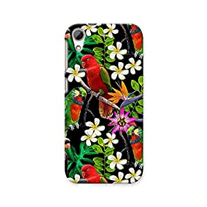 ArtzFolio Exotic Birds And Beautiful Flowers : HTC Desire 626 / 626G+ Matte Polycarbonate ORIGINAL BRANDED Mobile Cell Phone Protective BACK CASE COVER Protector : BEST DESIGNER Hard Shockproof Scratch-Proof Accessories