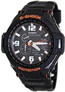 Casio Men's G1400-1adr G-shock Aviation Black Resin Multi-function Watch