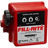 Fill-Rite 807C1 3 Wheel Mechanical Meter, 5 to 20 GPM