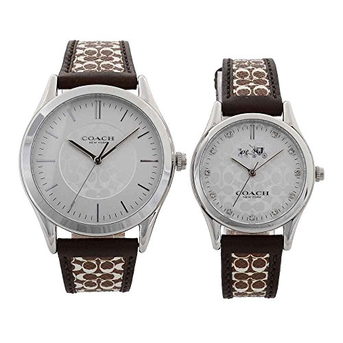 コーチ COACH コーチ 14000052 ペアウオッチ ニュー クラシック シグネチャー 腕時計 [並行輸入品]