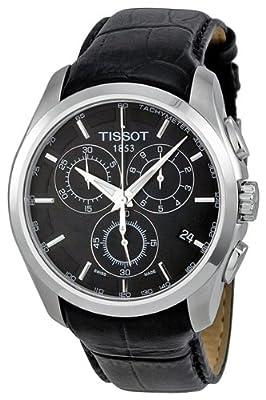 Tissot T-Trend Couturier Black Dial Chronograph Mens Watch T0356171605100