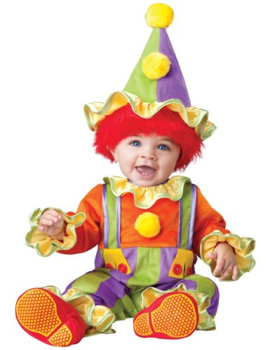 Cuddly Clown Baby Costume - 6-12 months