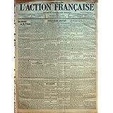 ACTION FRANCAISE (L') [No 9] du 09/01/1910 - L'ASSASSINAT DE MME GOUIN - LE DESSAISSISSEMENT DE M. CRIDEL - A...