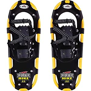 Redfeather Ladies Hike Control Bindings Snowshoe (Yellow, 25)