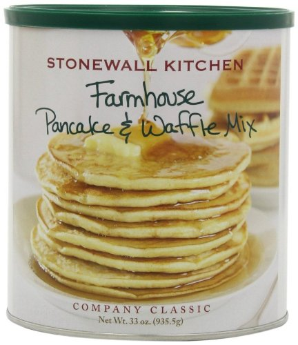 Stonewall Kitchen Farmhouse Pancake and Waffle Mix, 33-Ounce Can at Amazon.com