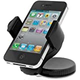 UNISUCTION UNIVERSAL 360 IN-CAR WINDSCREEN SUCTION HOLDER MOUNT FOR APPLE IPHONE 4 & 4S