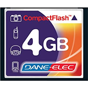Canon EOS 5D Mark II Digital Camera Memory Card 4GB CompactFlash Memory Card by DANE-ELEC MEMORY