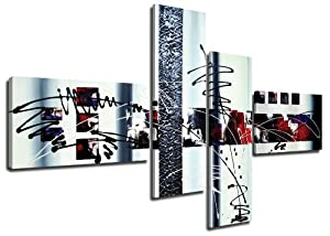 Cuadros en Lienzo 160 cm (mirada pintada a mano Nr. 6513) Listos para colgar, de la marca Visario - Electrónica - revisión y más información