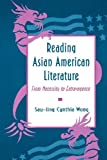 img - for By Sau-ling Cynthia Wong Reading Asian American Literature [Paperback] book / textbook / text book