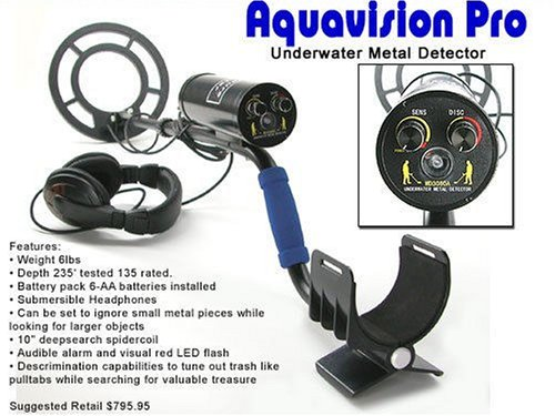Treasure Hunter Aquavision Pro Diving Metal Detector