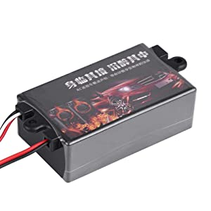 Pasamer RC Car Engine Sound Module Simulator,Upgrade Remote Control Car Engine Sound Simulated Module Set Simulator with Speaker for 1/10 Vehicle Car Model(Single Speaker) (Color: Single Speaker)