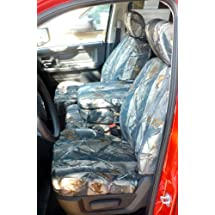Exact Seat Covers, D1304 XD3-C, 2009-2012 Dodge Ram 1500 and 2010-2012 2500-3500 Front 40/20/40 with Opening Console Custom Exact Fit Seat Covers. XD3 Camo Endura