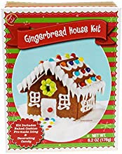 Make Your Own Mini Gingerbread House Kit From Create-A-Treat with Pre-baked Cookies Icing amp Decora