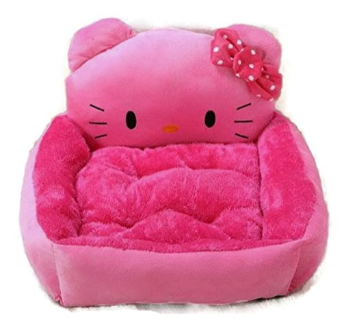 Pet Dog Cat Puppy Kitten Cute Sleeping Cushion Bed Medium Large Kitty