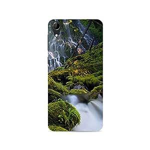 TAZindia Designer Printed Hard Back Case Mobile Cover For HTC Desire 728