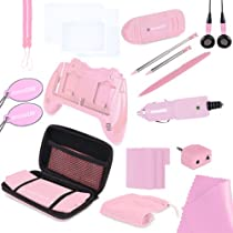 Hot Sale Nintendo 3DS 20 in 1 Essentials - Pink