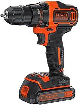 Black & Decker BDCDD220C 20V MAX Lithium 2-Speed Drill/Driver