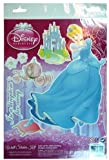 Disney Princess 14X9.5?Wall Sticker Kit 2 Style (72 Pieces)