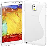 Cimo S-Line Back Case Flexible TPU Cover for Samsung Galaxy Note 3 - Clear
