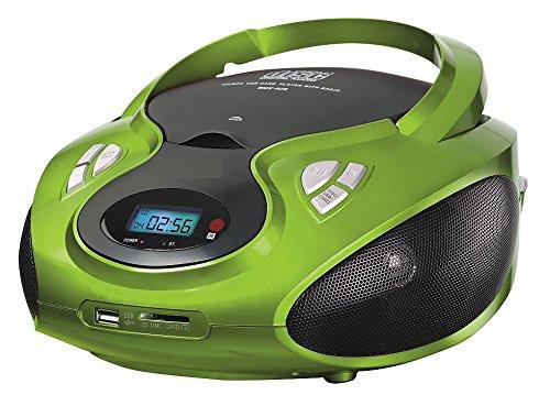 CD-Radio mit CD MP3 USB Player SD-Card Reader Tragbares Kinder Radio Boombox tragbarer CD Player