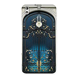 Royal Door Print Back Case Cover for HTC Desire 816