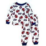 Spider-Man Toddler White Pajamas