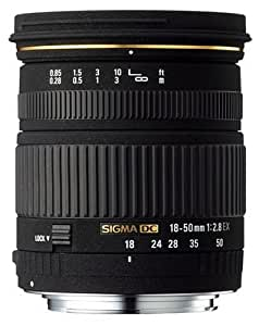 Sigma 18-50mm F/2.8 EX DC Lens for Canon Digital SLR Cameras