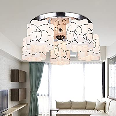 Modern minimalist living room lamp, romance, bedroom lighting, creative fashion, dining room chandelier, lighting