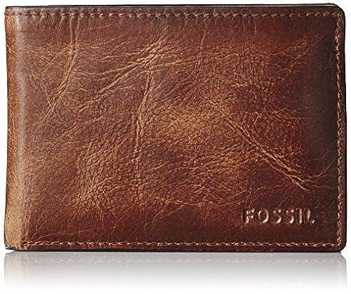 04. Fossil Men's Derrick Front Pocket Bifold Wallet