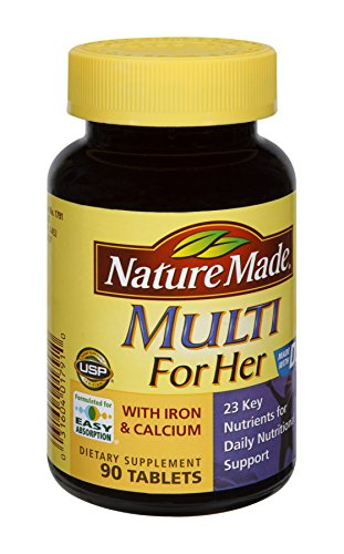 Nature Made For Her Iron And Cal