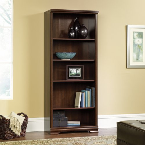 5 Shelf Bookcase - Select Cherry Finish