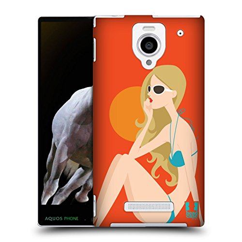 head-case-designs-donna-summer-girls-protective-snap-on-hard-back-case-cover-for-sharp-aquos-xx-302s