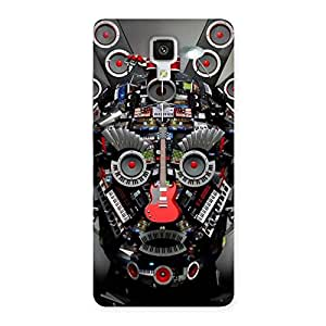 Stylish Face of Music Back Case Cover for Xiaomi Mi 4
