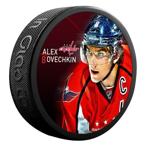 Sher-Wood-Alex-Ovechkin-Washington-Capitals-Star-Player-NHL-Puck