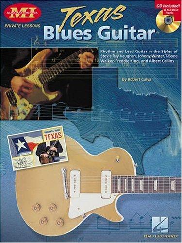 Texas Blues Guitar (Paperback) by Robert Calva