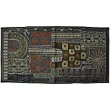 Designer Embroidery Work Wall Decorative Hanging Tapestry Runner 24 X 48 Inches