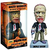 Zombie Merle Dixon Bobble Head Figur: Walking Dead x Wacky Wobbler-Serie Zombie Merle Dixon Bobble Head Figure: Walking Dead x Wacky Wobbler Series