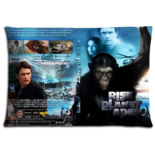 Cushion Pillow Protectors Case Rise of the Planet of the Apes Zippered Protectors Fabric Cotton Polyester 20x30 inch 50x76 cm