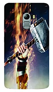 Everything printed /designer back cover case for Lenovo k4 note (multicolor)