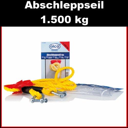 ALCA Auto Abschleppseil 4 m / 10 mm / 1500 kg