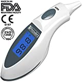 Best Ear Thermometer ● the Original Digital Infrared Body Temperature Thermometer By Iproven ● 100% Clinically Proven to Be Highly Accurate ● the Et-116A Is a Highly Convenient Ear Thermometer to Measure Temperature Accurately for People That Are Looking for the Best Baby Thermometer, Best Children Thermometer and Best Adult Thermometer All in One ● Specially Priced Limited Time Offer