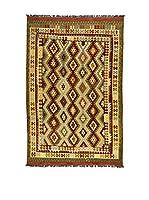 Eden Carpets Alfombra Kilimp-Vegetale Beige/Multicolor 302 x 196 cm