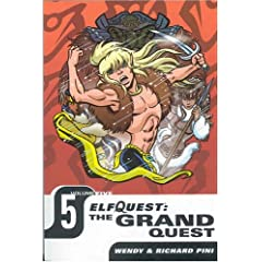 Elfquest: The Grand Quest - Volume Five by Wendy Pini and Richard Pini