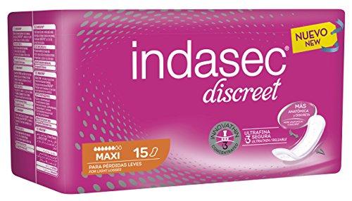 Indasec Compresa Per Perdite Lievi Maxi-Confezione Da 15