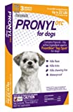 Pronyl OTC 22-Pound Dog Flea and Tick Sqz-On Flea and Tick Remedy, 3-Count