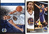 Stephen Curry (3) Basketball Cards & Mini Sticker Cards - Golden State Warriors Assorted NBA Trading Cards - MVP # 30